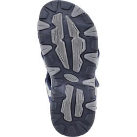 Hi-Tec GT Strap Chaussures Enfant, cool grey/majolica blue/limoncello